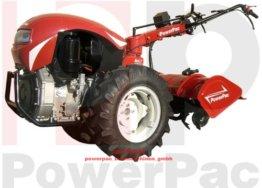 POWERPAC MAK17 - EINACHSER Fräskasten 80cm MOTORHACKE GARTENFRÄSE MOTORFRÄSE LOMBARDINI DIESEL 12 PS -