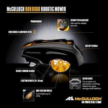 McCulloch Rob R600 Mähroboter Preisvergleich