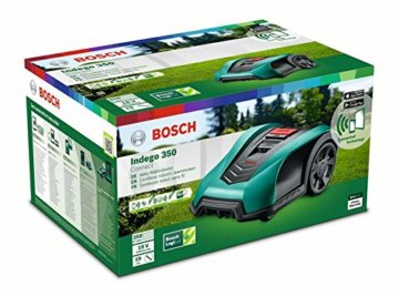 Bosch Mähroboter Indego 350 Connect  Verpackung