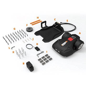worx landroid l2000i m hroboter test und preisvergleich neu. Black Bedroom Furniture Sets. Home Design Ideas