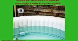 aufblasbarer whirlpool test bild