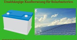 solarbatterie test bild