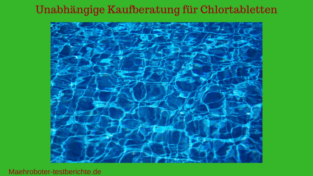 chlortabletten pool test