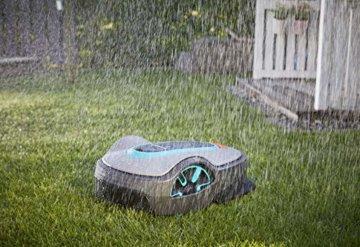 Gardena smart Sileno life Set im Regen