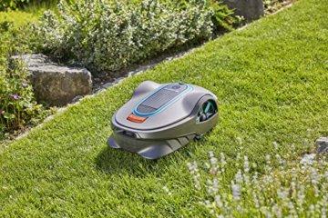 Gardena smart Sileno life Set auf Rasen