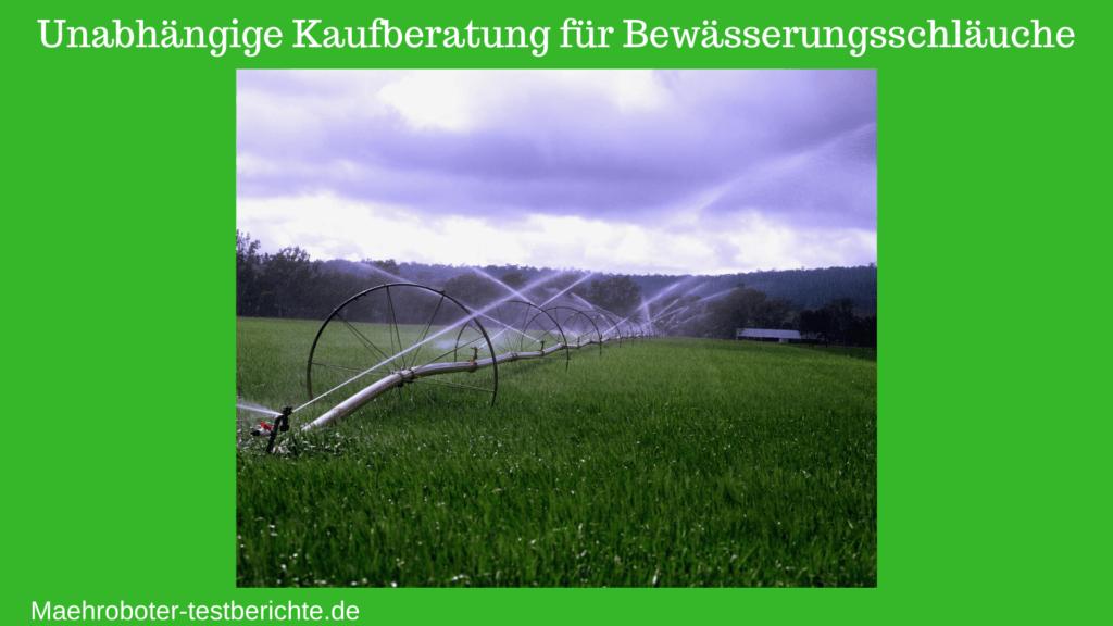 Bewässerungsschlauch Test