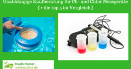 Ph- und Chlor Messgeraet test