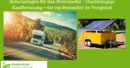 solaranlage wohnmobil test