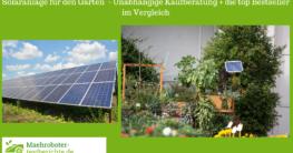 solaranlage garten test
