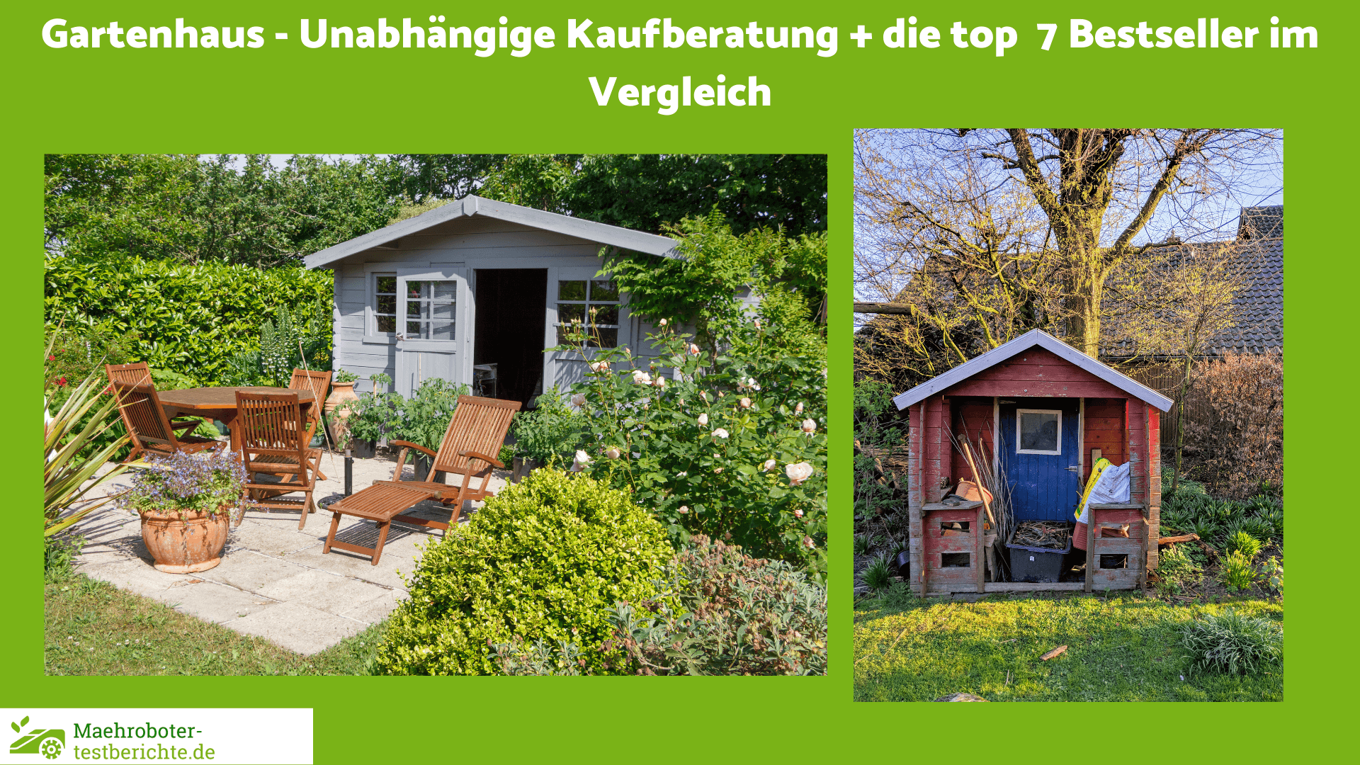 Gartenhaus Test